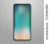 modern tablet device vector... | Shutterstock .eps vector #719440180