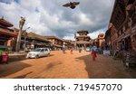 dattatraya square  bakhtapur ... | Shutterstock . vector #719457070