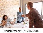 business partnership meeting