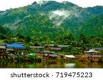 Rukthai Village With Mountain...