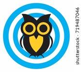 owl logo | Shutterstock .eps vector #719487046