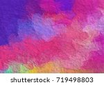 brush stroke graphic design... | Shutterstock . vector #719498803