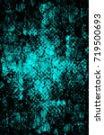 color grunge turquoise... | Shutterstock . vector #719500693