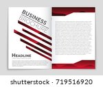 abstract vector layout... | Shutterstock .eps vector #719516920