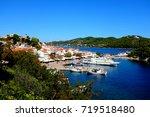 skiathos  greece. september 13  ... | Shutterstock . vector #719518480