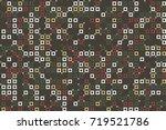 geometric pattern design  | Shutterstock .eps vector #719521786