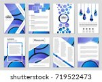 abstract vector layout... | Shutterstock .eps vector #719522473