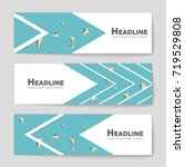 abstract vector layout... | Shutterstock .eps vector #719529808