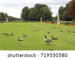 the nymphenburg palace  munich  ... | Shutterstock . vector #719550580