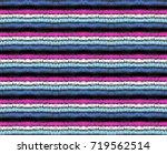 set of ethnic art brushes in... | Shutterstock .eps vector #719562514