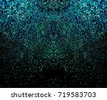 sparkling emerald background.... | Shutterstock . vector #719583703