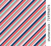 Colorful Diagonal Stripes...