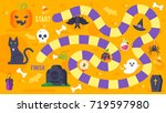 vector flat style illustration... | Shutterstock .eps vector #719597980