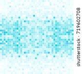 abstract digital blue white... | Shutterstock .eps vector #719602708