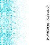 abstract digital blue white... | Shutterstock .eps vector #719602714