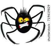 "spider ""oh no"" face emoticon... 