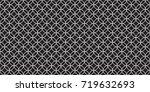seamless repeatable minimal... | Shutterstock .eps vector #719632693
