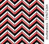 herringbone seamless pattern.... | Shutterstock .eps vector #719671264