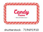 realistic rectangular candy... | Shutterstock .eps vector #719691910