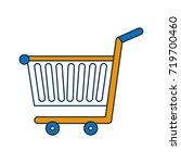 shopping cart icon | Shutterstock .eps vector #719700460