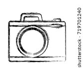 photographic camera icon | Shutterstock .eps vector #719701240