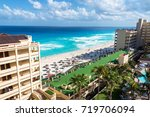cancun  mexico   march 9 ... | Shutterstock . vector #719706094