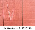 close up detail of a rustic red ... | Shutterstock . vector #719715940