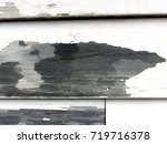 close up detail of a rustic... | Shutterstock . vector #719716378