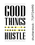 vector poster with the phrase ... | Shutterstock .eps vector #719724490