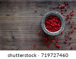 Food Set With Various Berries...