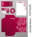stationery set  eps10   Shutterstock .eps vector #71973145