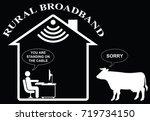 comical representation of slow...   Shutterstock .eps vector #719734150