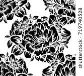 abstract elegance seamless... | Shutterstock . vector #719740528