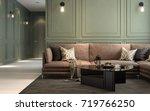 selected focus  interior... | Shutterstock . vector #719766250