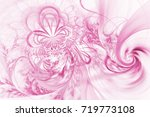 Abstract Colorful Exotic Pink...