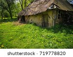 old abandoned barn in the... | Shutterstock . vector #719778820