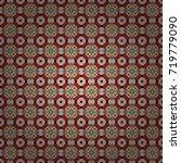vector beige  red and violet... | Shutterstock .eps vector #719779090