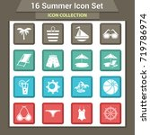 travel and vacation icon... | Shutterstock .eps vector #719786974