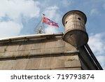 Flag And Turret On Naryshkin...