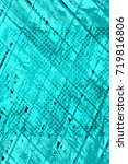 color grunge turquoise... | Shutterstock . vector #719816806