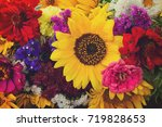 Bright Bouquet With Fresh Fall...