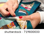 Seamstress Woman Sewing For...