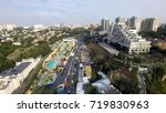 aerial view of arcadia beach in ...   Shutterstock . vector #719830963