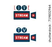live stream in camera shape...