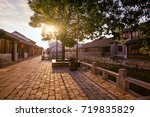 ancient town | Shutterstock . vector #719835829