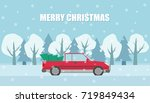vector background with a... | Shutterstock .eps vector #719849434