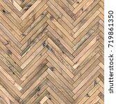 seamless texture of wood... | Shutterstock . vector #719861350