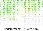 light blue vector red banner... | Shutterstock .eps vector #719890603