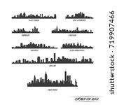 city vector | Shutterstock .eps vector #719907466