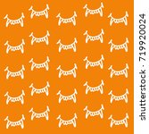 vector graphic pattern with ... | Shutterstock .eps vector #719920024
